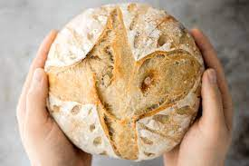 This image depicts a small batch of sourdough.